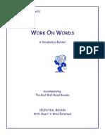 Work on Words - Sample 1