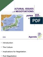 Cross Cultural Negotiation - Japan-Final