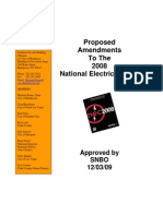 Southern Nevada 2008 NEC Amendments