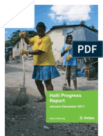 Haiti Progress Report