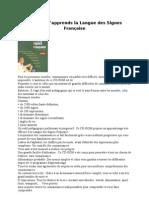 Logiciels Japprends La Langue Des Signes Francaise