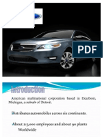 Ford Strategic Analysis Power Point
