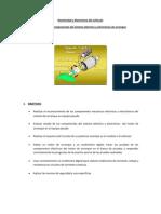 Electricidad y Electrónica del vehículo informe