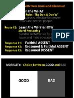 Moral Reasoning Handout