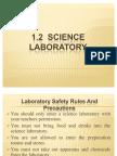 1.2 Laboratory Rules