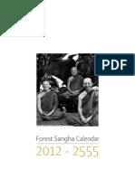 Forest Sangha Calendar 2012