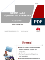 WCDMA NodeBV211 Operation and Manitenance-20100208-B-V1.0