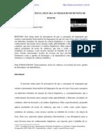 A TEORIA DE VALÊNCIA APLICADA AO TRABALHO DE REVISÃO DE TEXTOS