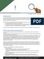 Value Focused Testing