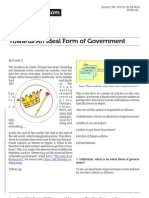Towards an Ideal Form of Government
