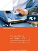 Accenture How Successful is Your Campaign and Promotion Management