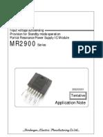 Mr2920 Datasheet