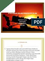 Etos Kerja Dalam Perspektif Islam