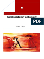 Sampling in Survey Methodology