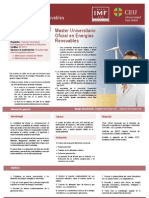 IMF 1094 Master Universitario en Energias Renovables