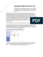 Cara Menggunakan Software Power Iso