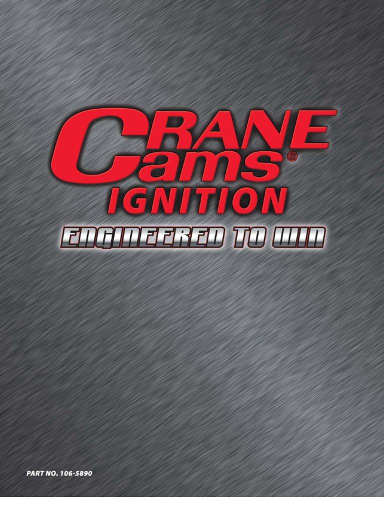 Crane Cams Ignition Catalog 09 | Ignition System | Distributor on