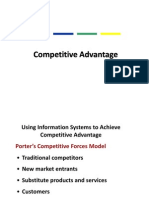 Is for Competitive Advantage