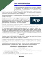 Juventud Resistencia Nicaraguense- comunicado