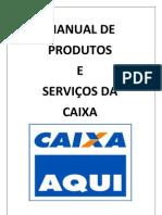 Manual de Produtos e Servios Da Cef