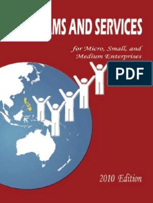 2010 Programs Services | Private Sector Development | Livestock