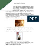 AULA DE QUÍMICA BÁSICA-SOLUÇÕES