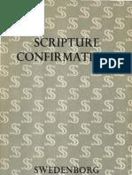 Em Swedenborg SCRIPTURE CONFIRMATIONS The Swedenborg Society London 1962