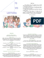 Capa Projeto de Leitura