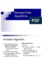 Lecture-36 Shortest Path Algorithms