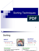 Lecture-39 Internal Sorting Techniques