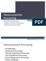 Presentation - Nanocomposite Processing