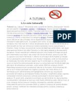 tutunul-proiect apss