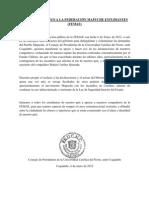 MENSAJE DE APOYO A LA FEDERACIÓN MAPUCHE ESTUDIANTES