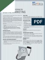 DIGITAL Marketing Brochure