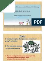 Vegetarian NUTRITION SOCIETY Presentation _ Ethics w Casue of Death in TWN