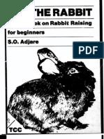 A Handbook on Rabbit Raising for Beginners 1984