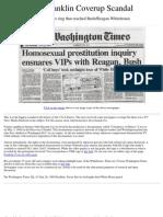 Franklin Scandal Coverup