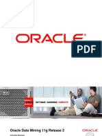 Oracle Data Mining 11g Release 2 OOW2010 1