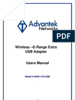 AWN 11G USB Manual English