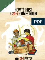 How to Host a 24-7 Prayer Room