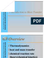 3 Mass Transfer Rate Laws