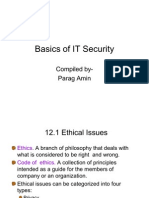 Basics of IT Security