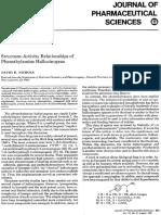 David E. Nichols- Structure-Activity Relationships of Phenethylamine Hallucinogens