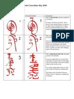 Grand Master Symbols Corrections June 2010