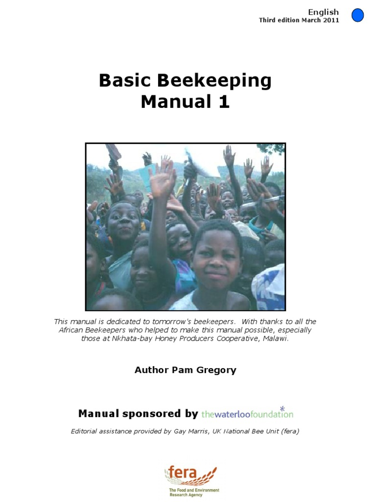 Basic beekeeping manual 1 part 01.