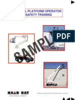Aerial Lift Student Manual