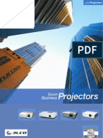 Business Projector Range Brochure 07