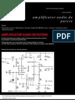 Amplificator Audio de Putere