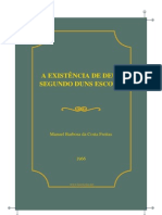 Freitas, Manuel Barbosa da Costa - A Existência de Deus segundo Duns Escoto