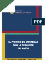 Principio de Causal Id Ad de Deduccion Del Gasto
